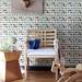 "Spoonflower custom wallpaper: ""Camping in the Wild"" by Andrea Lauren"