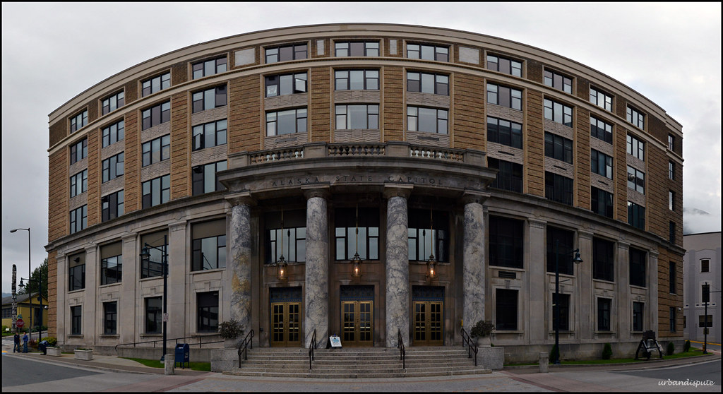 Alaska State Capitol Building Juneau This Is Six 16mm