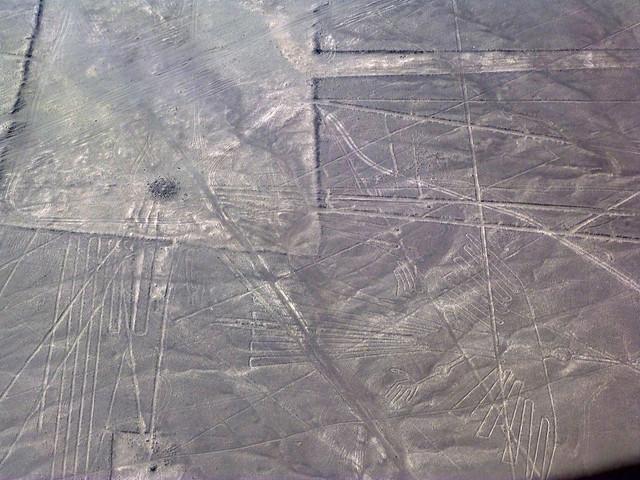 Las líneas de Nazca desde una avioneta