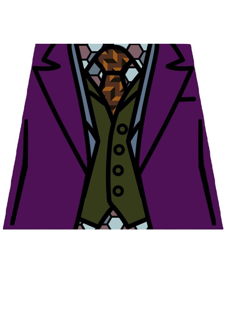 Joker Torso V2 | Lego Joker torso decal, played by Heath ...
