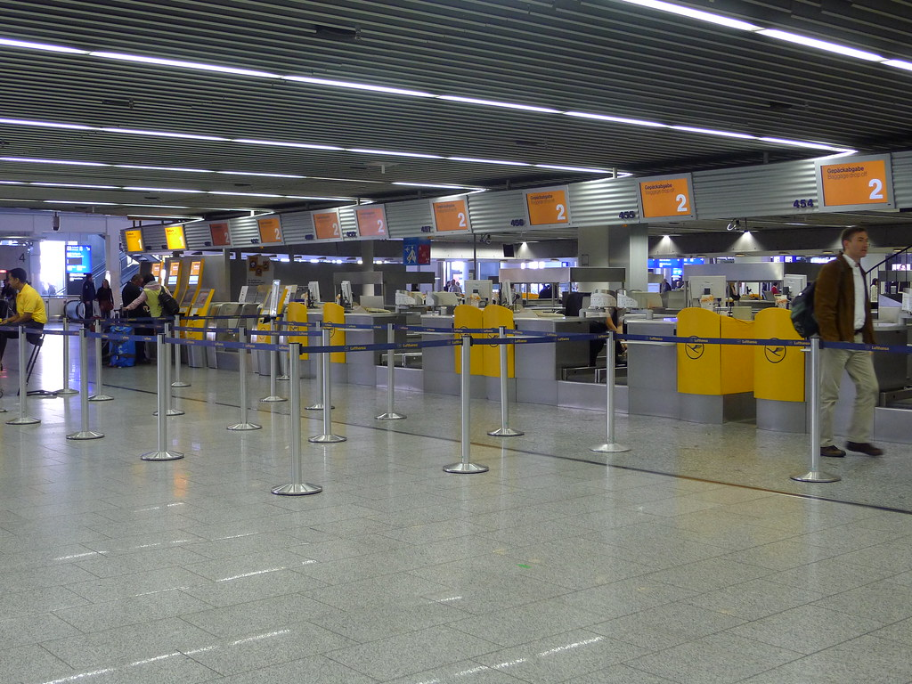 Lufthansa Terminal 1 Frankfurt