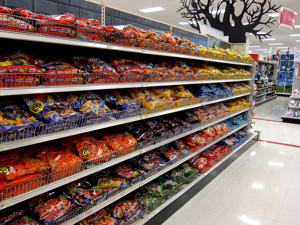 Target Candy Aisle Target Store Halloween Candy