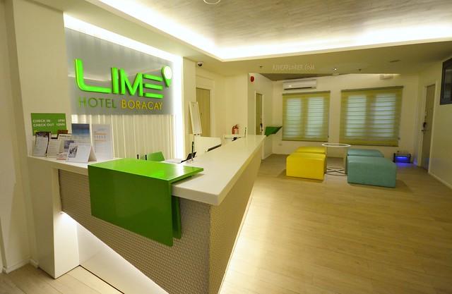 lime hotel boracay lobby