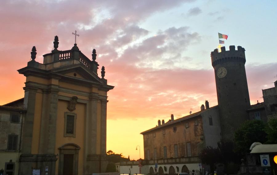 Bagnaia Sunset