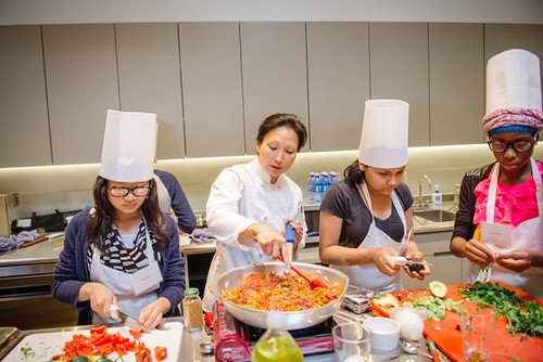 MPS Jr. Iron Chef Competition with Chef Ann Kim
