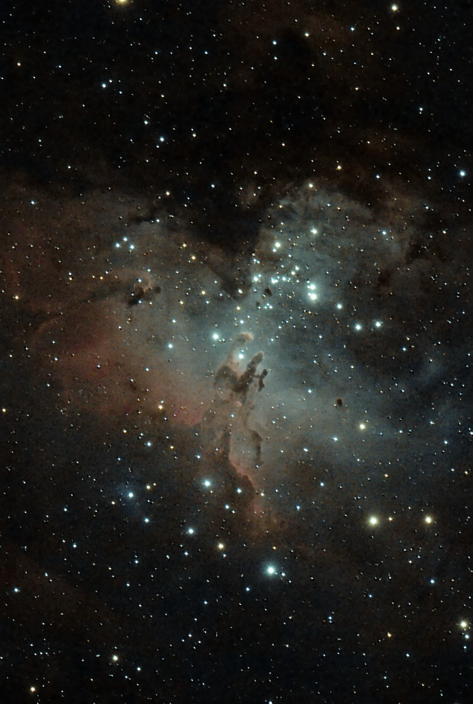 M16, the Eagle Nebula in Sagittarius   First light for our ...