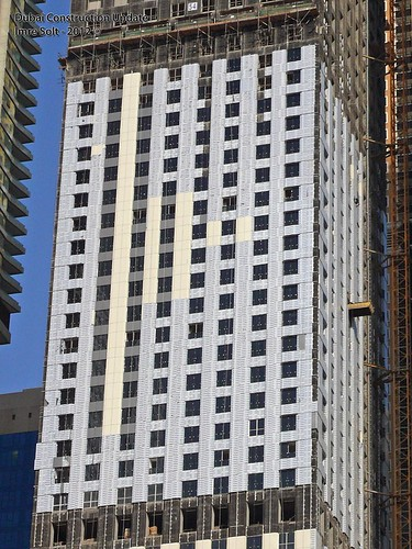 Dubai Marina construction photos, UAE, 31/August/2012 | by imredubai