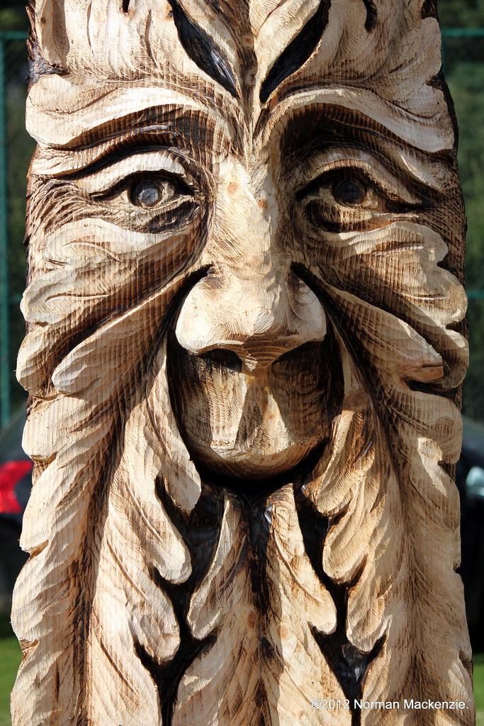 Carve carrbridge scottish open chainsaw carving
