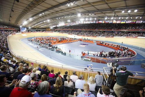 Velodrome during Paralympic Games | by The Department for Culture, Media and Sport