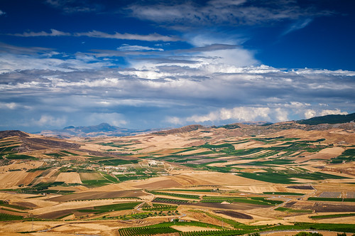 Belice Valley From S.Margherita | by Fabio Montalto