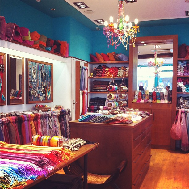 one of my fave stores in paris diwali they sell scarves flickr. Black Bedroom Furniture Sets. Home Design Ideas