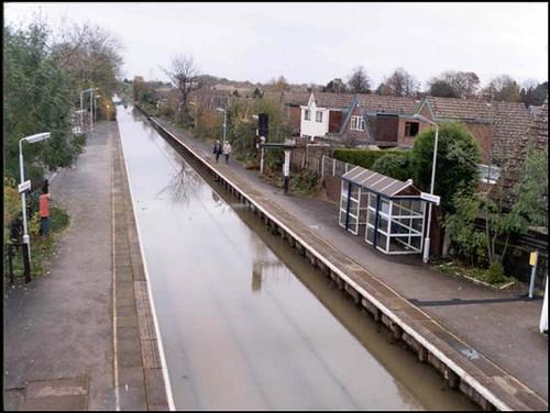 Nottingham Left Bank: Attenborough Station 2000 floods | Flickr