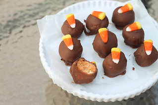 Candy Corn Oreo Truffles | by niftyfoodie