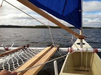 Sailing Stockton Lake, Missouri, 9-15-2012