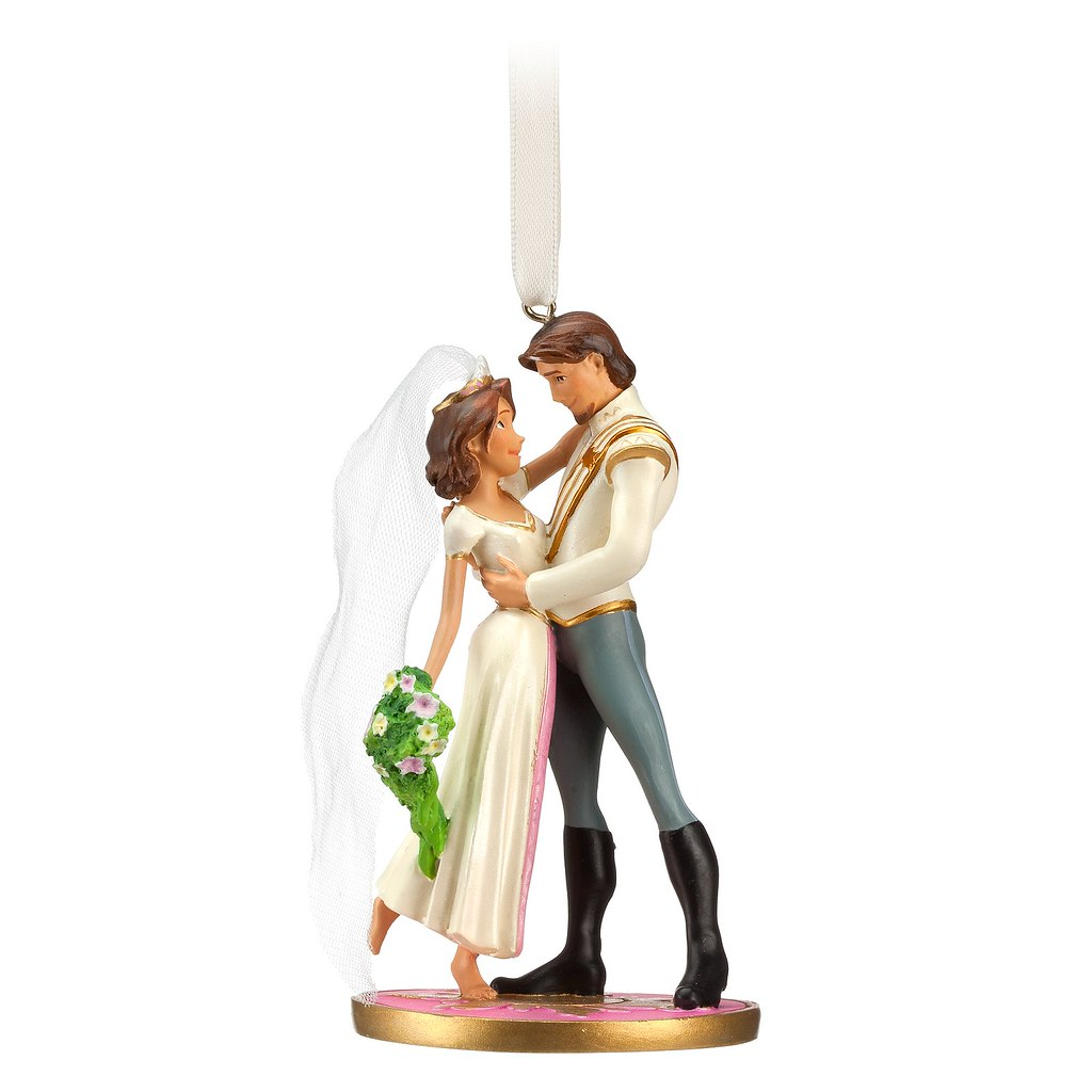 First wedding ornament -  Tangled Ever After Flynn Rider And Rapunzel Wedding Ornament Product Image By Drj1828