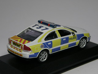 1:43 scale 2008 Northumbria Police Volvo S60 Traffic Patrol Car | by T.O.T. Models