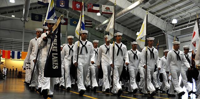 Navy Menschen Finder