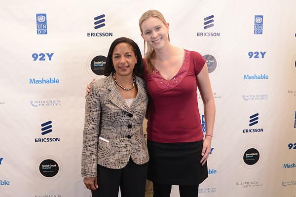 Get Free Credit Report >> Susan Rice, Brooke Loughrin   U.S. Ambassador to the UN Susa…   Flickr