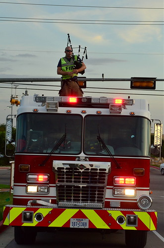 Round Rock Firefighter Plays bagpipes 1 | by Jason Bo