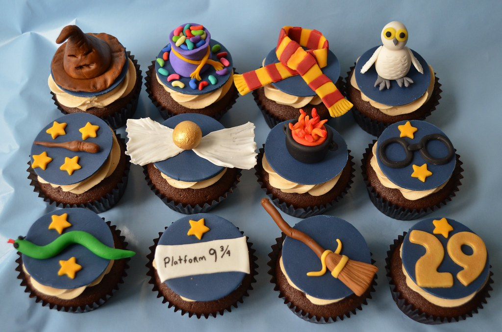 Harry Potter Themed Cupcakes These Were Some Cupcakes