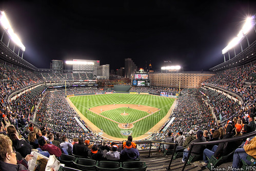 Opening Weekend At Oriole Park At Camden Yards | by BrianMoranHDR