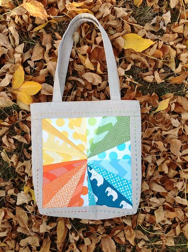 Mouthy Stitches 2 Tote - side A | by vardewoman