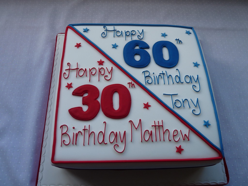 Birthday Cake With Photo Upload Free : Joint birthday cake www.vickiscakes.co.uk Vickis Cakes ...