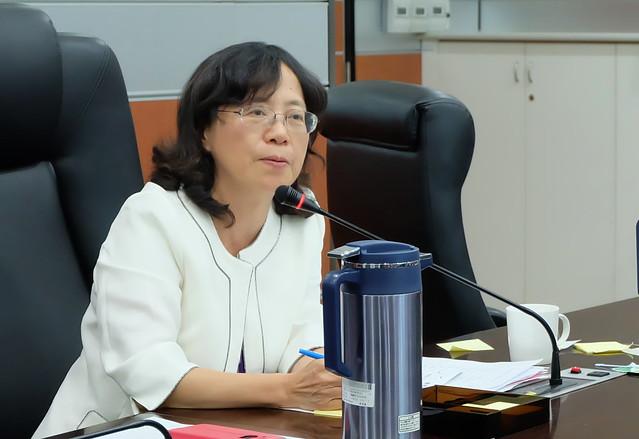 原能會副主委蔡慧敏 攝影:陳文姿
