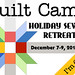 Quilt Camp - I'm Going (and Teaching)!