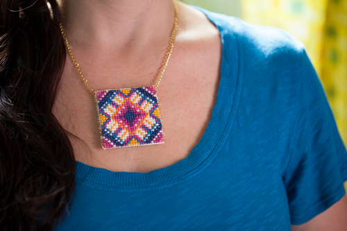 cross.stitch.pendant | by annamariahorner