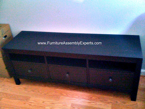 Ikea Hemnes Tv Stand Unit Assembly Service In Washington D Flickr