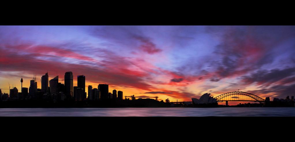 Sydney Silhouette Skyline || AUSTRALIA {{EXPLORED}} | Flickr