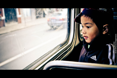 Happy Kid on The Bus | by Tribute/ Homenaje