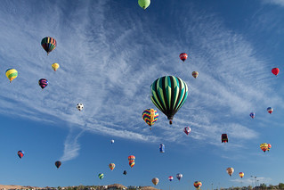 Mass ascension, Great Reno Ballon Race | by TomFalconer