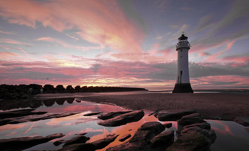 Sunset at New Brighton | by Ray Woolley