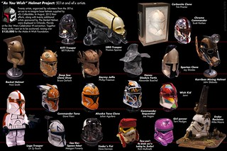 """As You Wish"" Helmet Project: 501st/eFx 