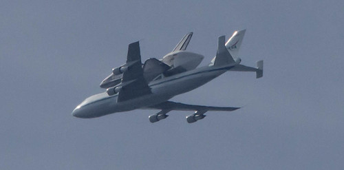 Space Shuttle Endeavour Flyover | by Pets4Dawn