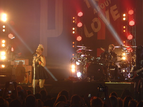P!NK Live Album Launch | by trytoohard