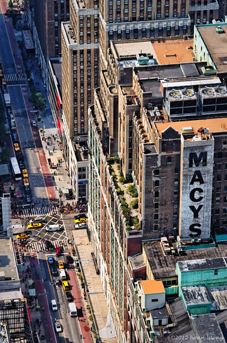Macy's on the top down the road | by hoan luong