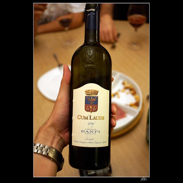 Kens wine review of 2004 Castello Banfi Italian Tuscany