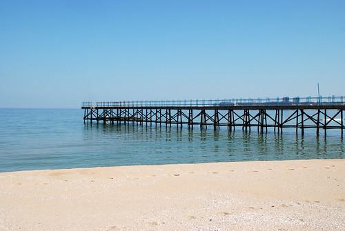 Южный пляж. Приморско. Primorsko. Bulgaria.