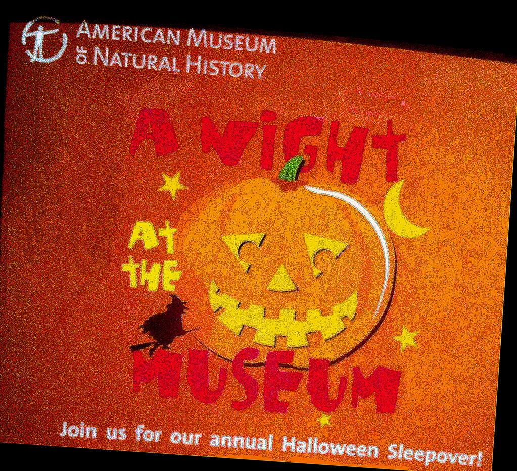 Museum Of Natural History Halloween Sleepover