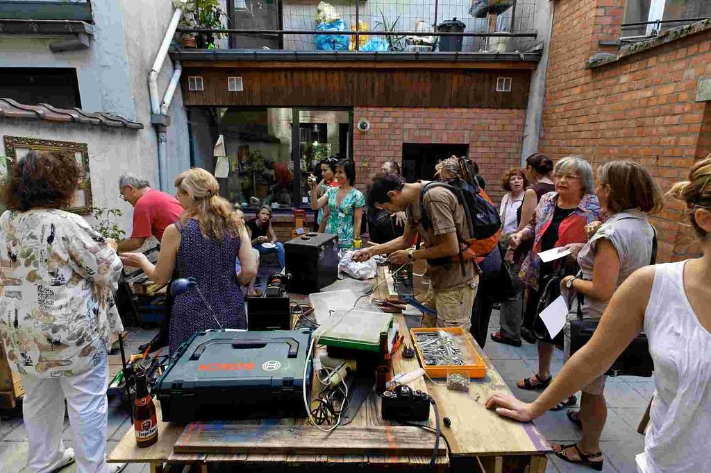 Repair Cafe In Der N Ef Bf Bdhe Von Herne