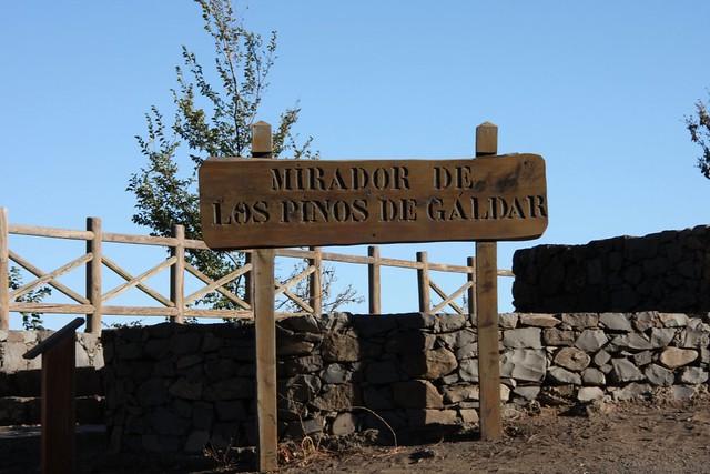 Fotos Mirador de La Caldera de Los Pinos de Gáldar Gran Canaria