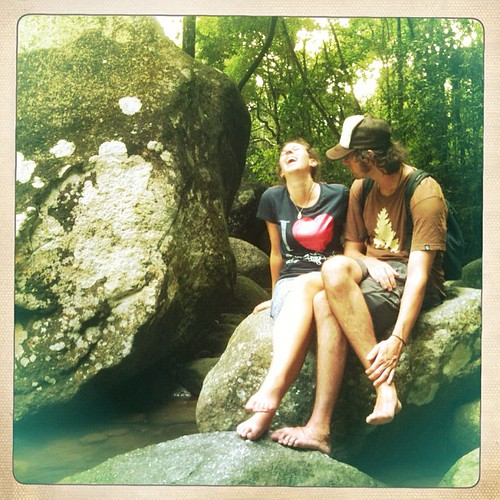 #couchsurfers #american #belgian #couple #love #travelers #backpackers #penang #holiday #host #nature #happiness #laugh #live #love #husband #wife #sweet #lovely #warm #hipstamatic | by matrianklw