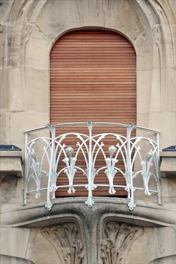 Balcon de la maison weissenburger de style art nouveau na for Plans de maison de style nouveau