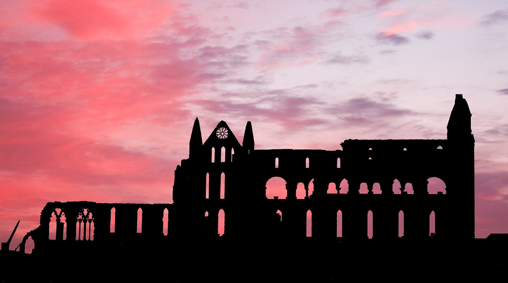 red sky Whitby | Flickr - Photo Sharing!