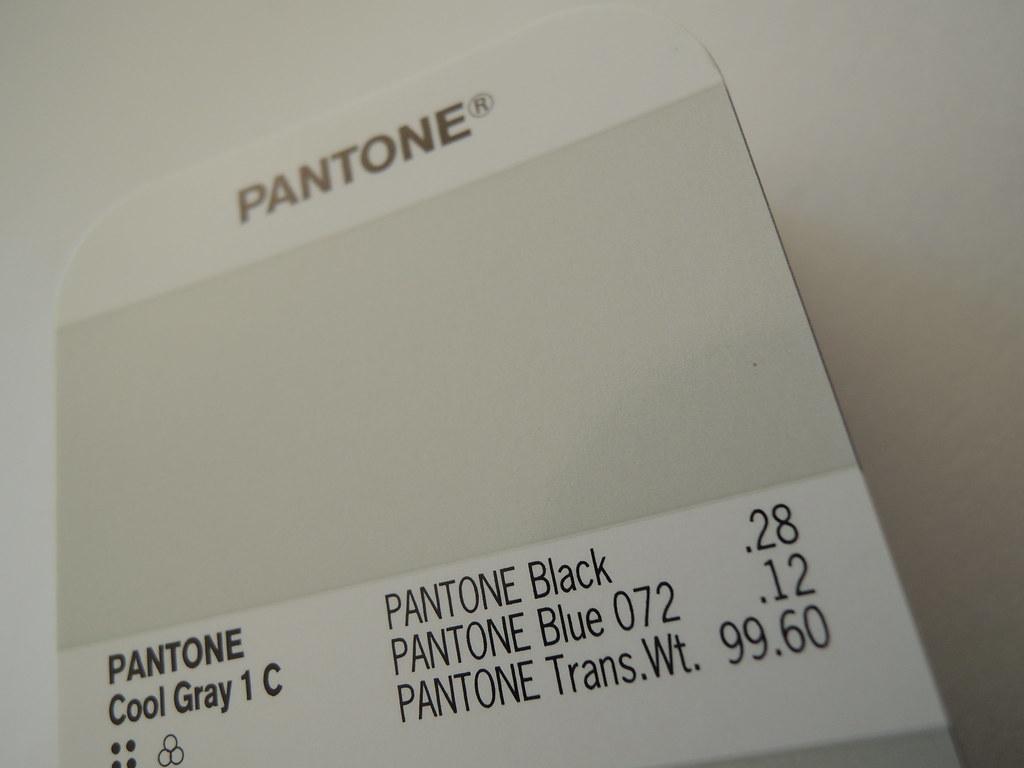 pantone cool gray 1c