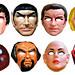 Devlin and Star Trek Masks 9432