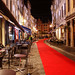 Red Carpet in the Street in Brussels